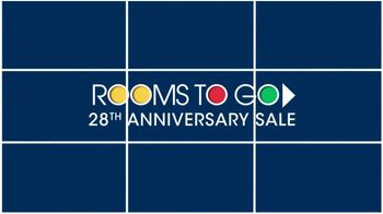Rooms to Go Anniversary Sale TV Spot, 'Five Piece Bedroom Set' - Thumbnail 2