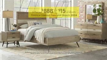 Rooms to Go Anniversary Sale TV Spot, 'Five Piece Bedroom Set' - Thumbnail 4