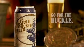Gold Buckle Beer TV Spot, 'Brewed for the Cowboy' - Thumbnail 6