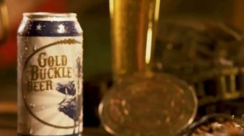 Gold Buckle Beer TV Spot, 'Brewed for the Cowboy'