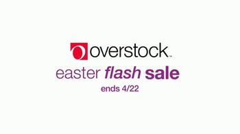 Overstock.com Easter Flash Sale TV Spot, 'Furniture, Decor and Rugs' - Thumbnail 1