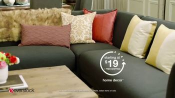 Overstock.com Easter Flash Sale TV Spot, 'Furniture, Decor and Rugs' - Thumbnail 5