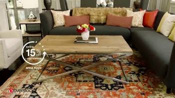 Overstock.com Easter Flash Sale TV Spot, 'Furniture, Decor and Rugs' - Thumbnail 6