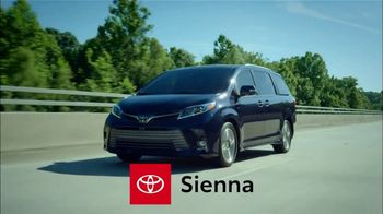 2019 Toyota Sienna TV Spot, 'Rolled Into One' [T2] - Thumbnail 1