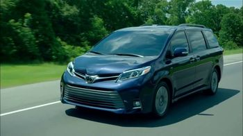 2019 Toyota Sienna TV Spot, 'Rolled Into One' [T2] - Thumbnail 3