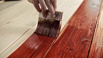Cabot Wood Stains Australian Timber Oil TV Spot, 'The Only Piece of Art a Bratwurst Ever Landed On' - Thumbnail 1