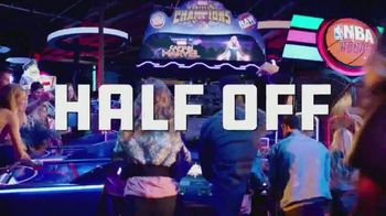 Dave and Buster's TV Spot, 'Half-Price Games: Play the Marvel Contest of Champions Arcade Game' - 194 commercial airings