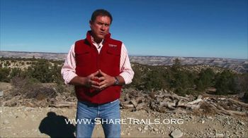 ShareTrails.org TV Spot, 'America's Playground' Featuring Chad Booth