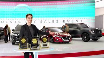 Nissan Now Presidents Day Sales Event TV Spot, 'Big News' [T2]