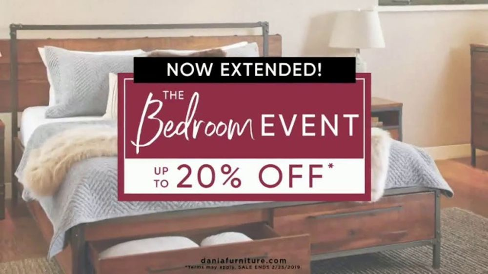 Dania Furniture Bedroom Event TV Commercial Treat Yourself Video