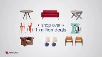 Overstock.com Presidents Day Blowout TV Spot, 'Top-Rated Furniture'