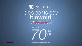 Overstock.com Presidents Day Blowout TV Spot, 'Top-Rated Furniture' - Thumbnail 3