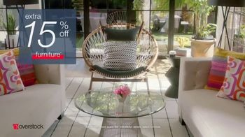 Overstock.com Presidents Day Blowout TV Spot, 'Top-Rated Furniture' - Thumbnail 6