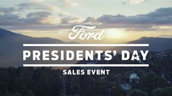 Ford Presidents Day Sales Event TV Spot, 'Best Offers' [T2] - Thumbnail 1