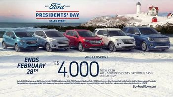 Ford Presidents Day Sales Event TV Spot, 'Best Offers' [T2] - Thumbnail 8