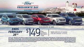 Ford Presidents Day Sales Event TV Spot, 'Best Offers' [T2] - Thumbnail 7