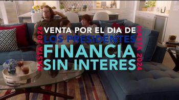 Rooms to Go Venta por el Día de los Presidentes TV Spot, 'Ahorra en todo' [Spanish] - Thumbnail 8