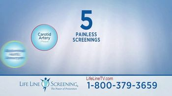 Life Line Screening Package TV Spot, 'Quick, Easy & Affordable Screenings' - Thumbnail 5