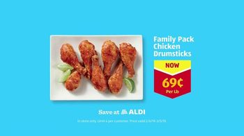 ALDI TV Spot, 'Some Things You Can't Take Back: Chicken Drumsticks' - Thumbnail 10
