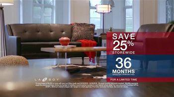 La-Z-Boy Presidents Day Sale TV Spot, 'Held Over: Save 25 Percent' - Thumbnail 6