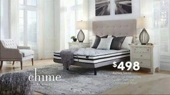 Ashley HomeStore Presidents Day Mattress Sale TV Spot, 'Chime' Song by Midnight Riot - Thumbnail 4
