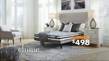 Ashley HomeStore Presidents Day Mattress Sale TV Spot, 'Chime' Song by Midnight Riot - Thumbnail 5