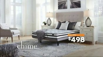 Ashley HomeStore Presidents Day Mattress Sale TV Spot, 'Chime' Song by Midnight Riot - Thumbnail 6