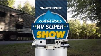 Camping World 9th Annual RV Super Show TV Spot, 'Bigger and Better' - Thumbnail 2