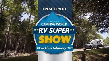 Camping World 9th Annual RV Super Show TV Spot, 'Bigger and Better' - Thumbnail 6