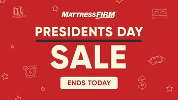 Mattress Firm Presidents Day Sale TV Spot, 'Extended: King for Queen'