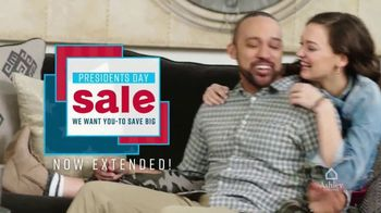 Ashley HomeStore Presidents Day Sale TV Spot, 'Extended: Savings and Financing Deals'