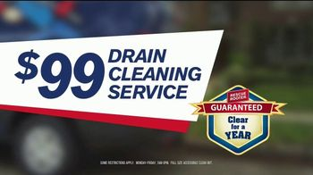ARS Rescue Rooter TV Spot, 'Clogged Drains' - Thumbnail 6