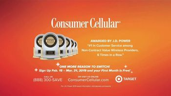 Consumer Cellular TV Spot, 'Just For You: First Month Free' - Thumbnail 10