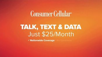 Consumer Cellular TV Spot, 'Just For You: First Month Free' - Thumbnail 9