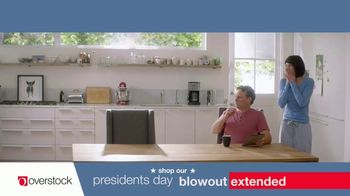 Overstock.com Presidents Day Blowout TV Spot, 'Table Runner' - Thumbnail 4