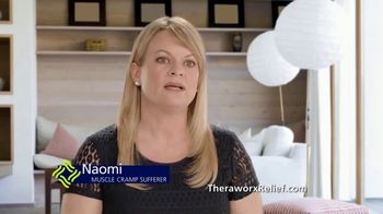 Theraworx Relief TV Spot, 'Naomi: Muscle Cramps'
