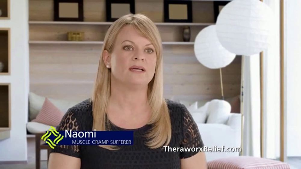 Theraworx Relief TV Commercial, 'Naomi: Muscle Cramps'