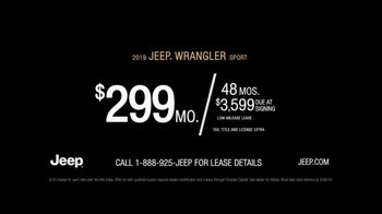2019 Jeep Wrangler TV Spot, 'Made For' Song by Carrollton [T2] - Thumbnail 8