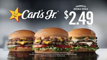 Carl's Jr. Charbroiled Double Deals TV Spot, 'Uncomfortably Close: $2.49' - Thumbnail 10