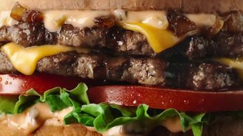 Carl\'s Jr. Charbroiled Double Deals TV Spot, \'Uncomfortably Close: $2.49\'