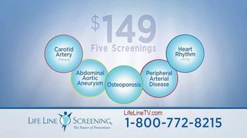 Life Line Screening Package TV Spot, 'Preventive Screenings' - Thumbnail 9