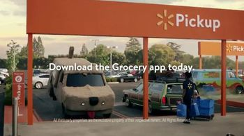 Walmart Grocery Pickup TV Spot, 'Famous Cars: Vacation' Song by Gary Numan