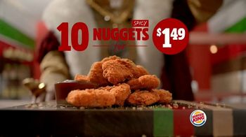 Burger King Chicken Nuggets TV Spot, 'Turning Up the Heat'