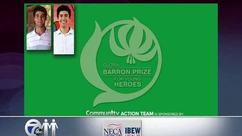 Gloria Barron Prize for Young Heroes TV Spot, '2019 Call for Applications'