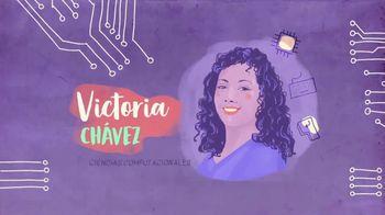 TECHNOLOchicas TV Spot, 'Victoria C. Chávez: ciencias computacionales' [Spanish]