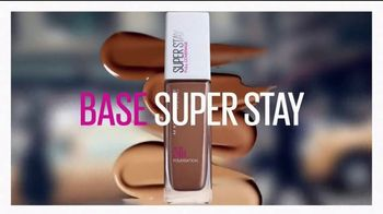 Maybelline New York SuperStay Foundation TV Spot, 'Impecable' [Spanish]