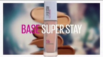 Maybelline New York SuperStay Foundation TV Spot, 'Impecable' [Spanish] - Thumbnail 7