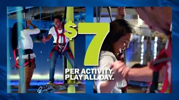 Main Event Entertainment $7 Per Play TV Spot, 'Play All Day'