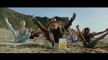 Carl's Jr. Beyond Famous Star With Cheese TV Spot, 'Malibu Yoga'