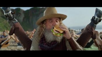 Carl's Jr. Beyond Famous Star With Cheese TV Spot, 'Malibu Yoga' - Thumbnail 7